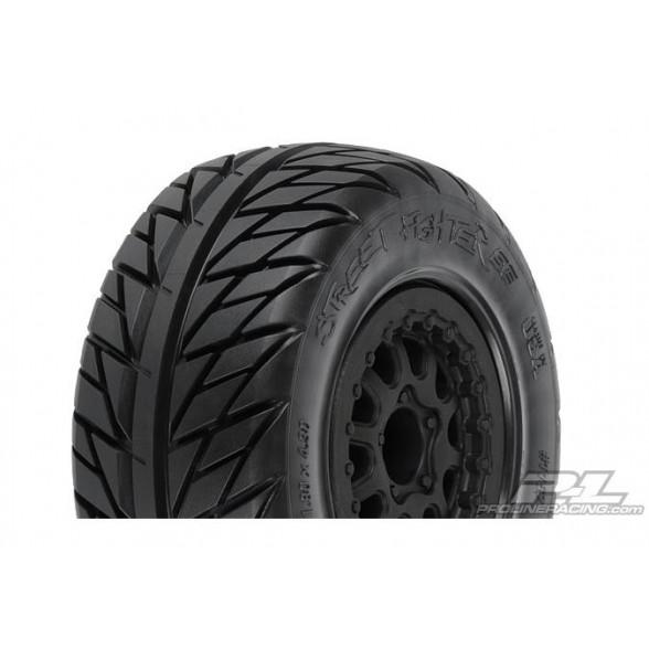 Колеса в сборе Шорткорс 1/10 - Street Fighter SC 2.2/3.0 Tires  диски Renegade (Slash, Blitz)