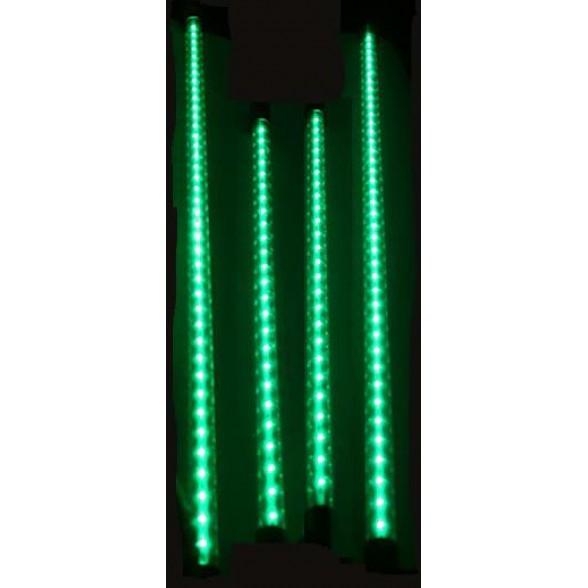 Неоновая подсветка (4 полосы) питание от кроны (9в) ЗЕЛЕНАЯ