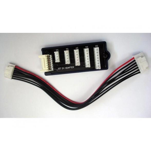 Балансировочный разъем Li-Po с кабелем HUB / 5 in 1 (JST EH Adapter)