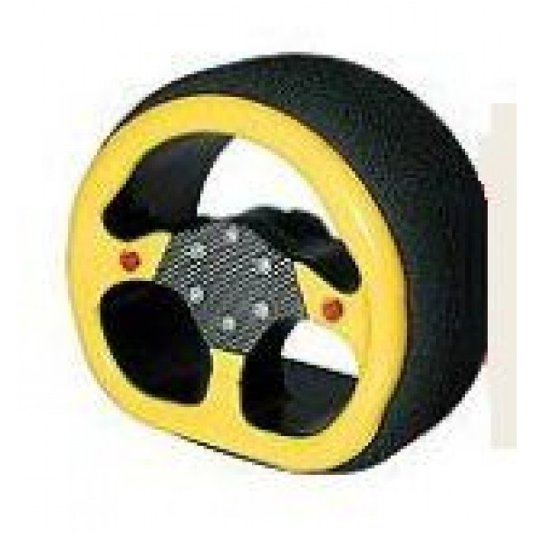 Колесо рулевое для пульта - D-STYLE STEERING WHEEL - SANWA YELLOW