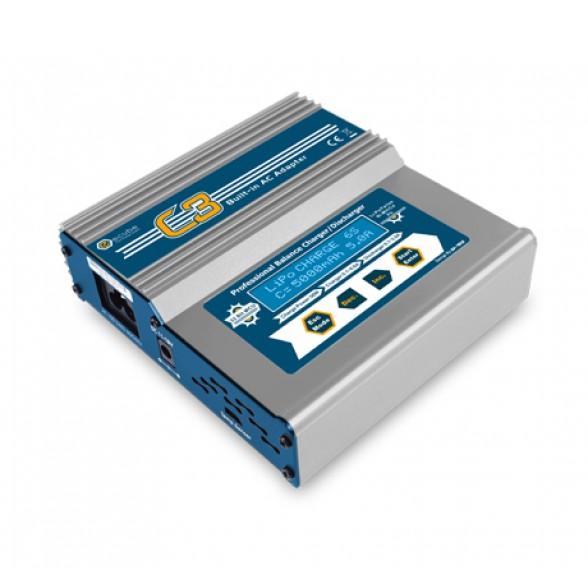 Зарядное устройство универсальное - C3AC (220/12В, 50W, C:6A, D:2A)