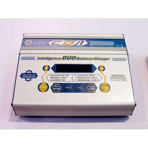 Зарядное устройство универсальное - CD1 (220/12В, 100Wx2, C:10A, D:5A)