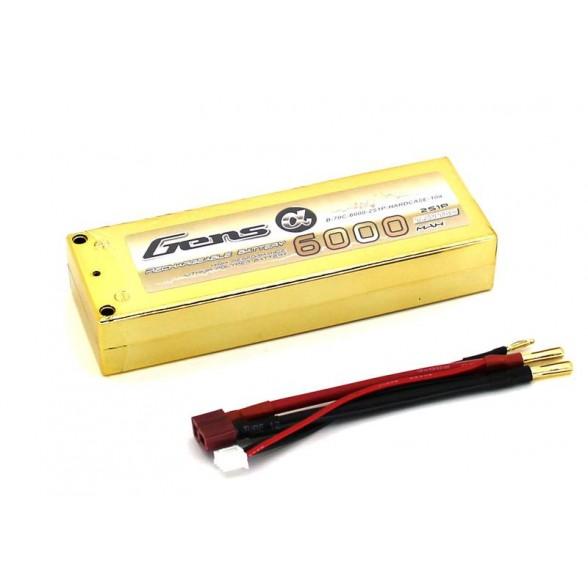 Аккумулятор Li-Po 7.4В 6000мАч 70C (2S)