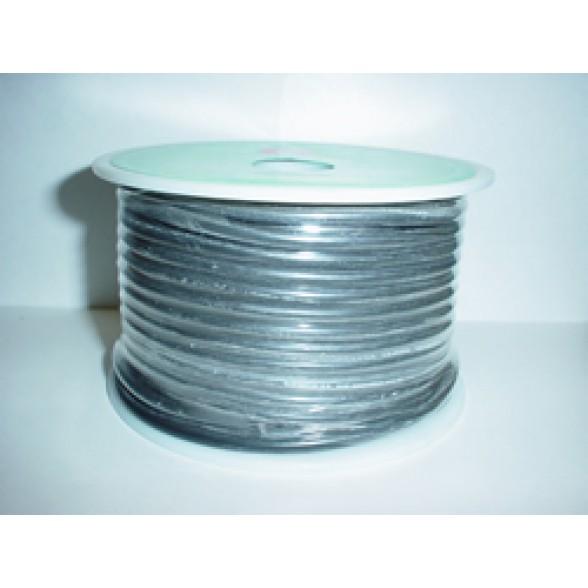 Провод силиконовый сеч. 2.1 мм2 Super Silicone 14T Black (1м)