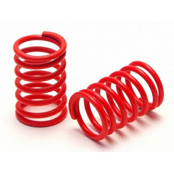 SHOCK SPRING FRONT 13x20x1.8 mm  6 COILS (RED/SOFT)