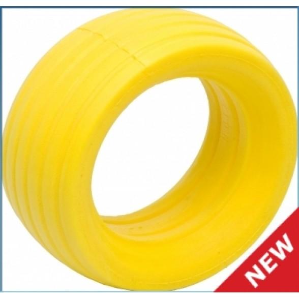 Вставки - VTEC 1/8 Off-Road Truggy LP molded tire insert - soft - yellow (2 шт.)