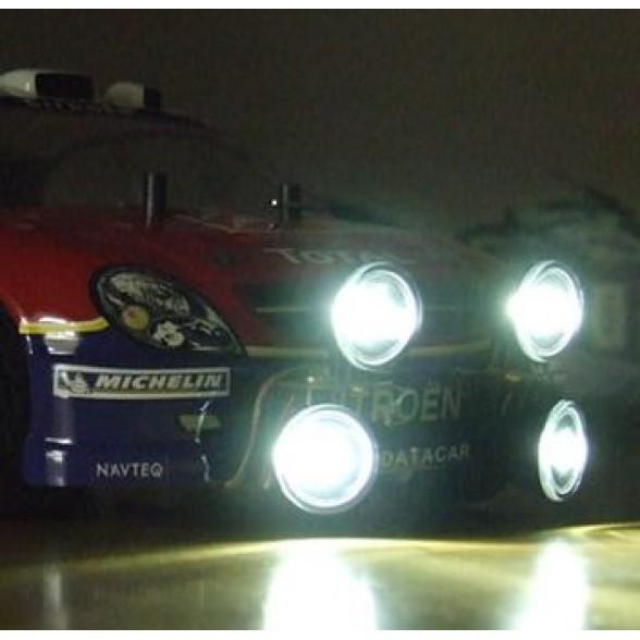 Комплект освещения - 4 Piece Rally/Truck Lighting Kit with Mounts - White