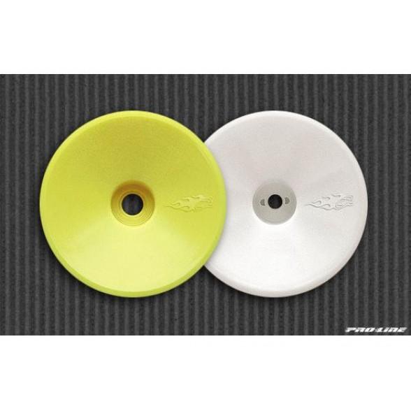 Диски колесные трак 1/10 - передние / белые / для T2, T3, T4, GT (2шт)
